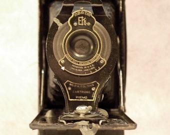 vintage Kodak No. 2A pocket camera folding bellows Cartridge Prema Eastman Kodak Co.