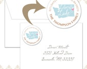 48 Washington State Circle Return Address Labels