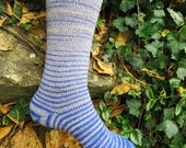 Wit and Learning (Harry Potter inspired) Gradient Stripes Matching Socks Set, 2-50g Cakes, Lavish (dyed to order)