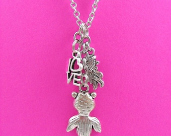 Fish Charm Necklace