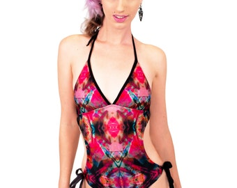 Swimwear by Beach Please!  | The Rorschach Monokini