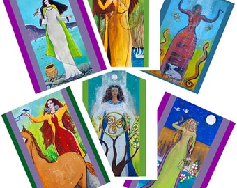 Greeting Cards - Celtic Goddesses