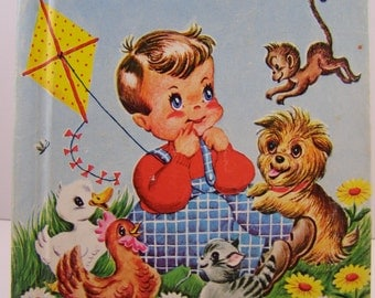 What Can I Do?, vintage children's book