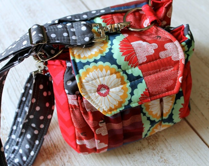 Watermelon Wishes Patchwork Camera Bag