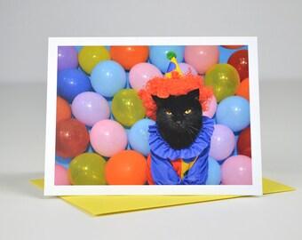 AC is a Clown Greeting Card