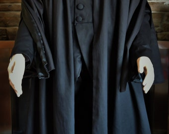 Custom made Severus Snape Harry Potter tail coat and cape