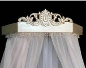 Wall  canopy crown in Duchess style,  perfect for your princess,any color