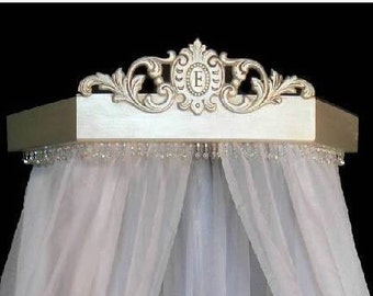 Bed coronet crown in Duchess style,  perfect for your princess,any color