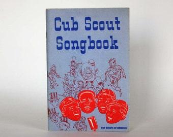 Cub Scout Songbook - Vintage Book c. 1969