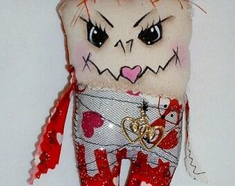 Mini Valentine Monster Zombie Doll V-3
