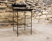 Free Shipping! The Barista - Urban Modern Reclaimed Wood and Steel Saddle Stools with Free Shipping