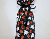 Halloween Reusable Gift Bag / Wine Bottle Bag / Halloween Wine Gift, 6 STYLES to choose from