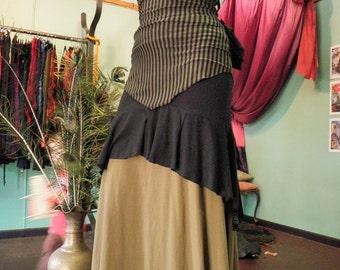 Hemp & Organic Cotton Elements Skirt... SML-MED 6-10au 2-6us