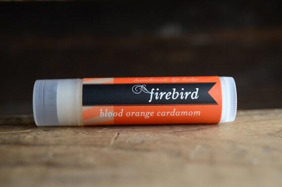 Blood Orange Cardamom Lip Balm