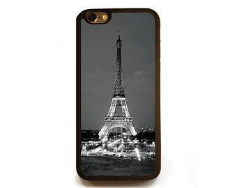 Eiffel Tower iPhone 6s case, Protective rubber case for iPhone 6 or 6s, travel photography silicone cellphone case