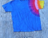 One Sleeve to the Sky Tie Dye T-Shirt (Jerzees Size XL) (One of a Kind)