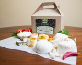 Deluxe DIY Cheese Kit, Make Mozzarella, Ricotta, Goat Cheese, Paneer & Queso Blanco - 30 batches