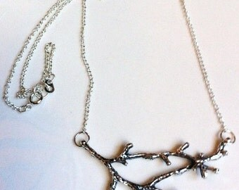 I Am the Vine, You are the Branches Necklace