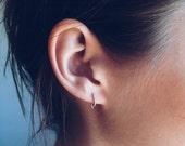 Stippled Crest Earrings