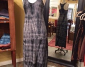 Shibori It! - Organic Cotton Maxi Dress