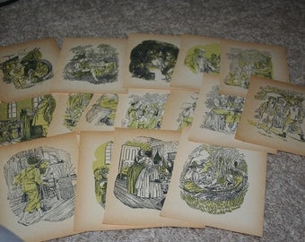 Tom Sawyer Picture Plates