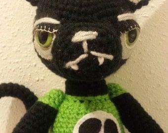 Custom Amigurumi Black Cat made to order