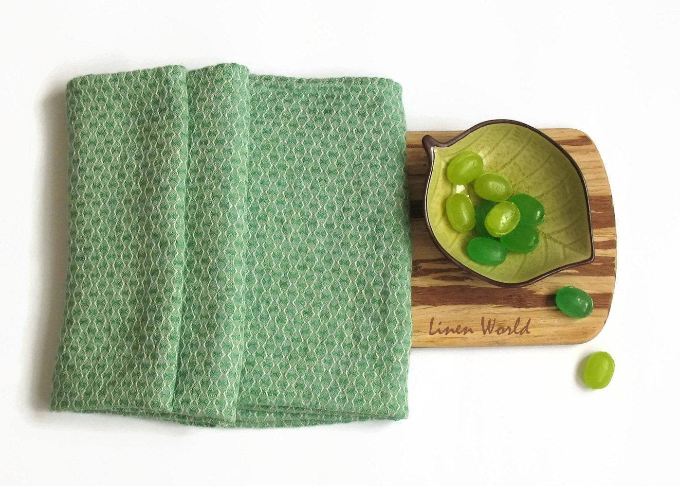 100 softened linen tea towel mint green pure linen tea. Black Bedroom Furniture Sets. Home Design Ideas