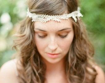 Parisa vine headpiece with crystals