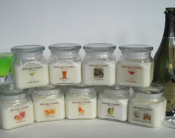 COLD DRINKS for a Hot Night - 10oz Soy Jar Candle (15% discount)