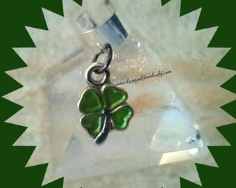 4 leaf Clover,Kiss Me I'm Irish,Irish Ear Cuff,Shamrock,Cartilage Earrings, Non Pierced, Fun,Gifts for Her,Ready to Ship, Direct Checkout