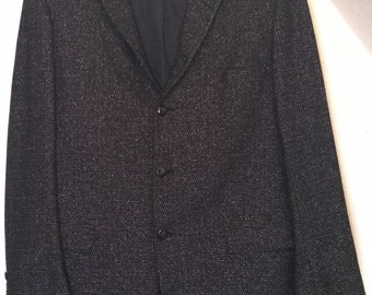 Vintage 50s 60s Jacket Blazer Tailored in Rochester by Bonds Clothes, Union Amalgamated Made in USA