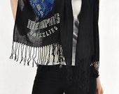 Memphis Grizzlies Rhinestone Pashmina Shawl - Beautiful Woman's Scarf