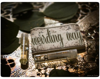 the weirding way - natural perfume oil 2 vial mini sampler - primary notes: pear glace and vine
