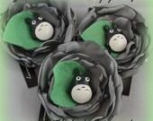 Totoro Hair Flower
