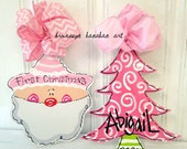 PINK Christmas Ornaments - Bronwyn Hanahan Art