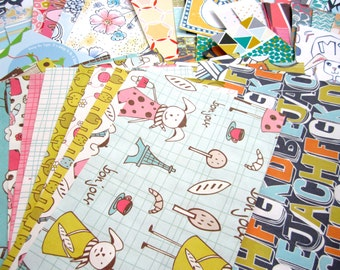 Paper Scrap Pack - Designer Studio Paper Bundle