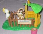 LPS Zoo Baby Tiger, G1 Littlest Pet Shop, Kenner 93 complete
