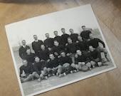 Antique Football Team Photo / 1925 Ogallala Nebraska Football Team Photo / Vintage School Football Team Photograph