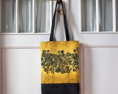 Tote bag made with vintage Finnish fabric