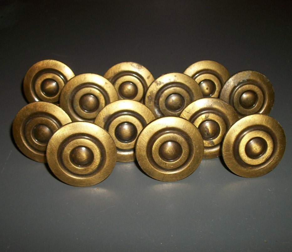 Gold knobs