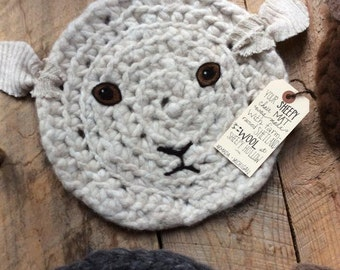 SIT UPON - Wooly - Sheep - Chair Pad
