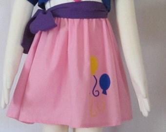 Child Size My Little Pony Equestria Girls Pinkie Pie Cosplay Costume Size 2 3 4 5 6 7 8 9 10 11 12 14