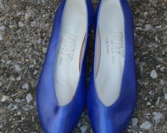 Vintage Purple  Dyeable Ballet Flats 8M