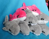 Shark Plushie CHOOSE YOUR COLOR - Made to Order