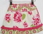 Toddler skirt pattern, Easy PDF sewing pattern, PDF skirt pattern - Twirly skirt pattern (S104) - Size 1 to 5