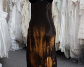 HAND dyed Upcycled VINTAGE gowns. Many colors, fabrics and styles to choose from