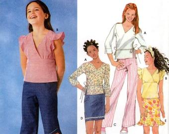 Girls' Separates Pattern - Simplicity 7193 - Size 7-14 UNCUT OOP