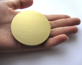Gold Paper Circles Wedding Decorations Large die cut Circles