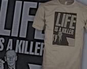 William S Burroughs T Shirt - William Burroughs T Shirt - Killer T Shirt - FREE SHIPPING