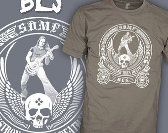 Black Label Society Shirt - Ozzy Guitarist - Zakk Wylde - BLS Rock T-Shirt